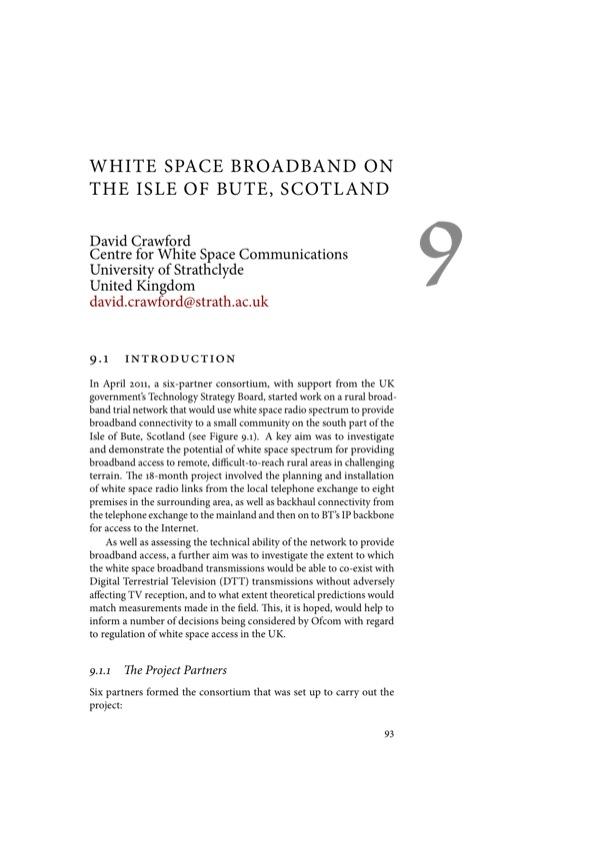 TV White Spaces, a pragmatic approach